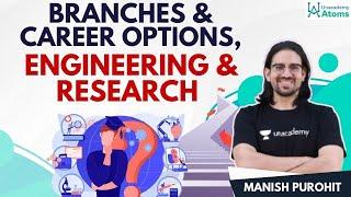 Branches \u0026 Career Options | Engineering \u0026 Research | Unacademy Atoms | Manish Purohit