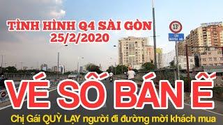 Tình hình Sài Gòn 25/2/2020 Đẹp mê hồn bến Vân Đồn Quận 4 ngày nay