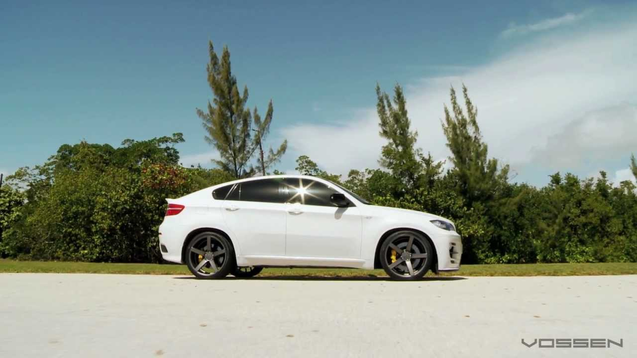 "Bmw Rims 22 Inch >> BMW X6 on 22"" Vossen VVS-CV3 Concave Wheels / Rims - YouTube"