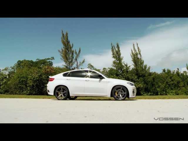 BMW X6 on 22