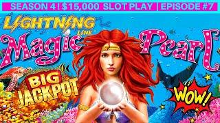 High Limit LIGHTING LINK Slot Machine HANDPAY JACKPOT | Season 4 | EPISODE #7