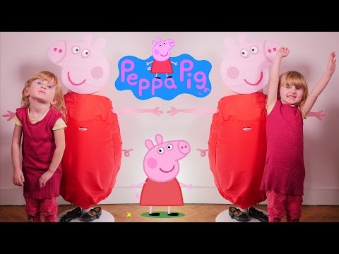 [OEUF & JOUET] Peppa Pig Oeuf Geant - Studio Bubble Tea unboxing Peppa Pig Giant Egg