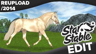 Trotting Akhal-Teke | Star Stable Speed Edit ✍️ (Reupload /2014)