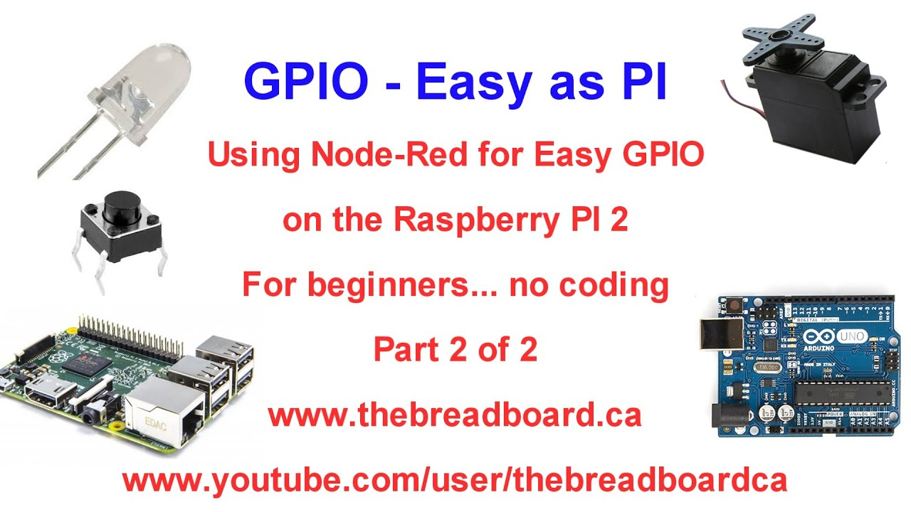 Gpio Easy As Pi Part 2 Of Construct Your First Node Red Program Wiringpi
