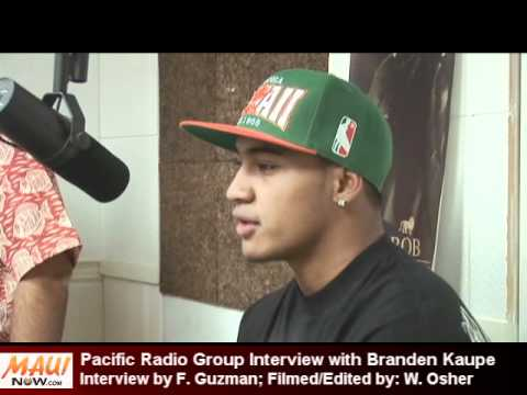 Branden Kaupe Video Interview - Maui Now and Pacific Radio Group - June 7 2012