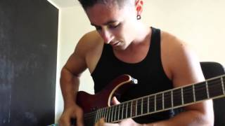 Escape The Fate - Live fast, Die beautiful Guitar cover
