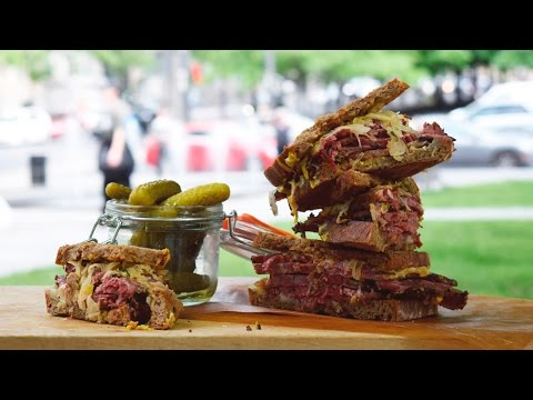 ULTIMATE REUBEN Sandwich | AD