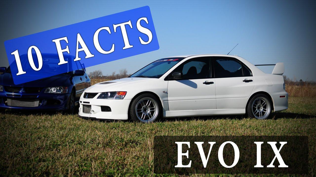 Evo X Mr >> 10 Facts // Mitsubishi Lancer Evolution IX // EVO 9 ...