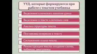 Формирование УУД при работе с учебным текстом в УМК  Диалог  12 50 51