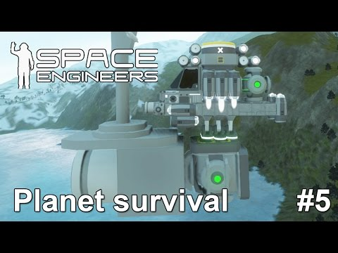 Space engineers: Scouting for ores with a big ship ore detector