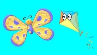 La Cometa y la Mariposa - Fábula Rusa Animada