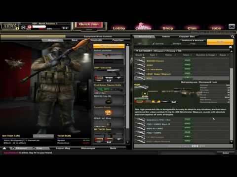 GOA Account For Sale || Combat Arms || READ DESCRIPTION