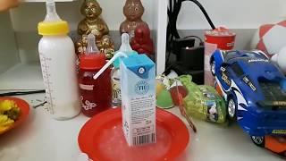 Kumanthong uống sữa