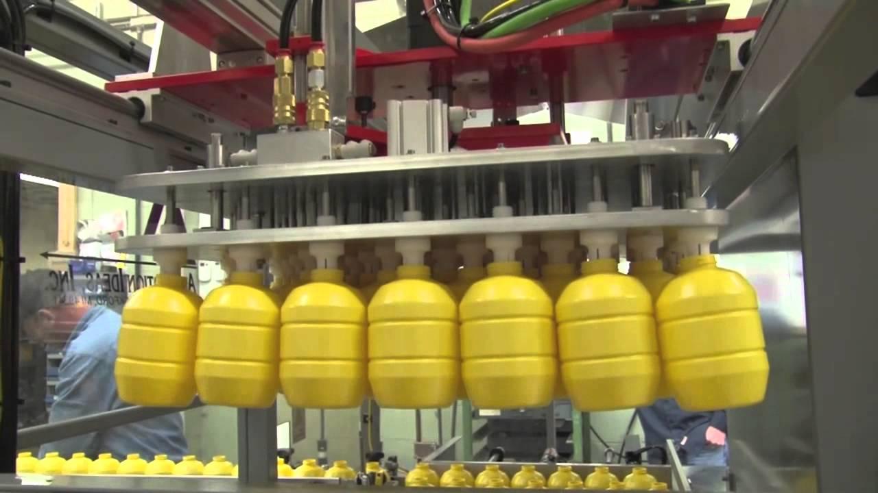 Automation Ideas Bottle Pick N Place Boxing Machine