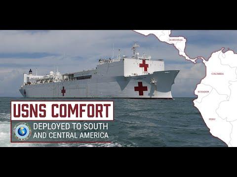 USNS Comfort Deployment
