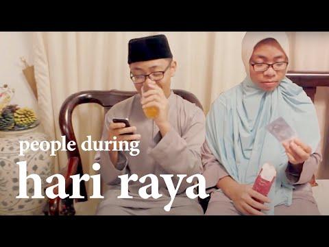 19 TYPES OF PEOPLE DURING RAYA