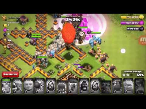 Clash of clans modded server gameplay