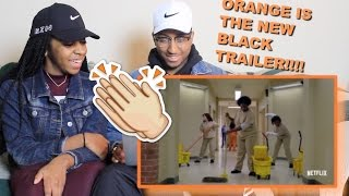 Couple Reacts : Orange is the New Black Season 4 Trailer Reaction!!!