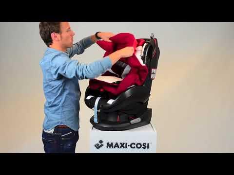 Maxi-Cosi Tobi | группа 1 | как снять чехол | EN