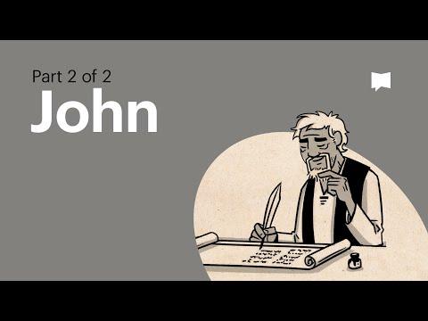 Read Scripture: John Ch. 13-21