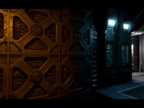 Doom 3 - Parallax occlusion mapping (POM)