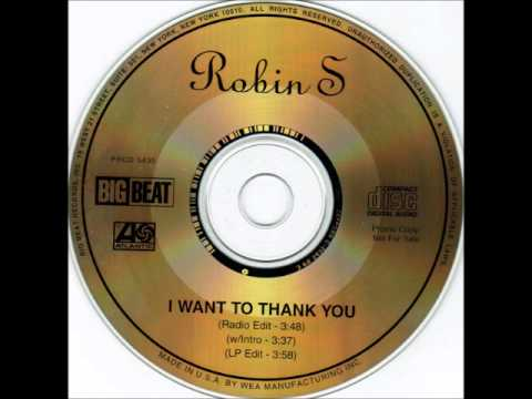 Robin S  I want to thank you
