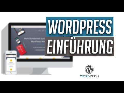 WordPress Einführung - Alle Funktionen im Dashboard erklärt - Tutorial