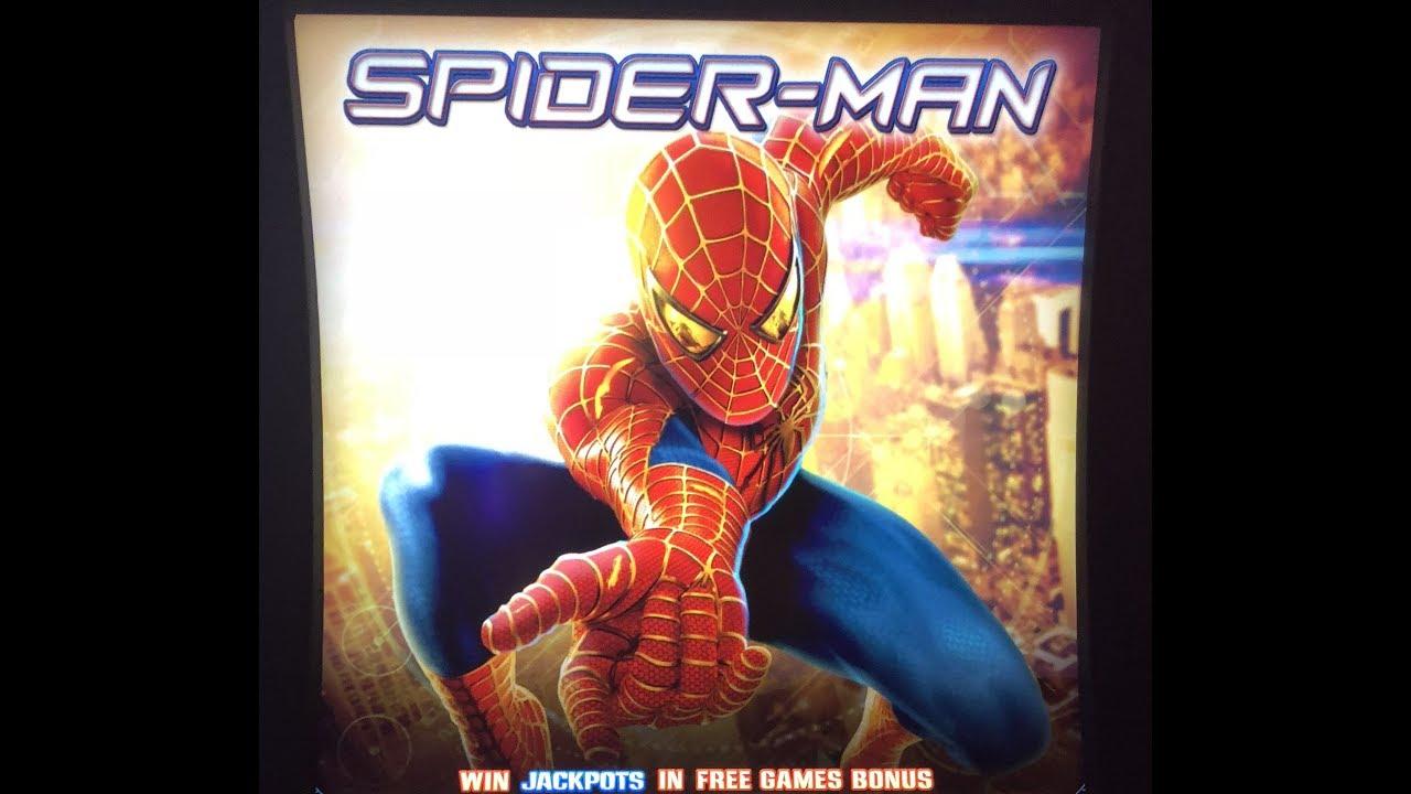Spiderman Slot Machine
