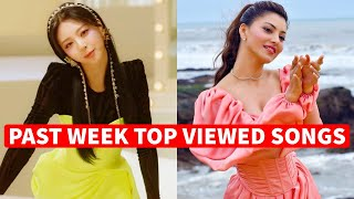 Global Past Week Most Viewed Songs on Youtube [3 May 2021]