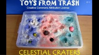 CELESTIAL CRATERS - MALAYALAM - Make your own craters!