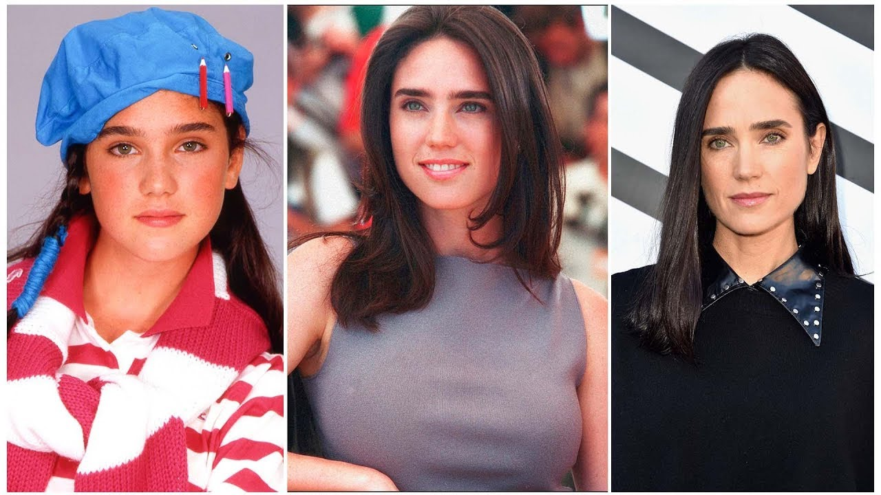 Download Jennifer Connelly - From 10 to 47 Years Old