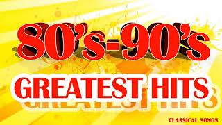 Nonstop The Greatest Hits of 80s 90s - Best Oldies Love Songs of 1980s 1990s