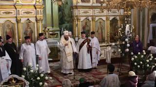 Колядки у Свято-Троїцькому соборі Луцька 2019 | Волинські Новини
