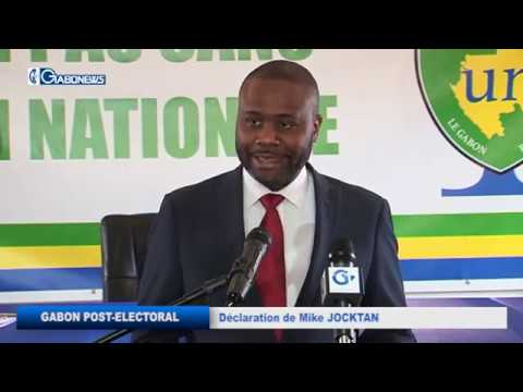 GABON/POST-ELECTORAL : DECLARATION DE MIKE JOCKTANE