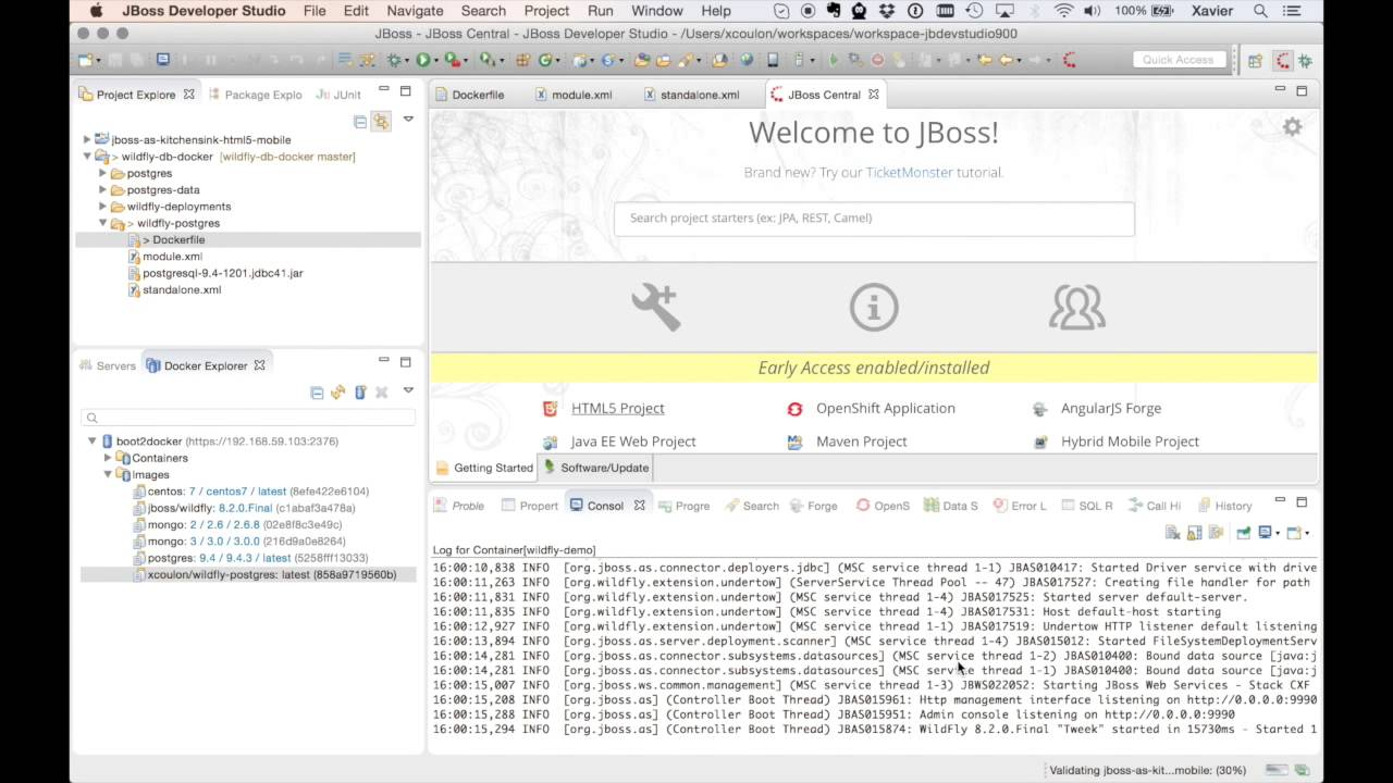 JBoss Tools - Posts tagged with 'wildfly'