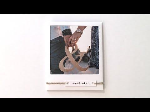 Polaroid Gift Card Holder