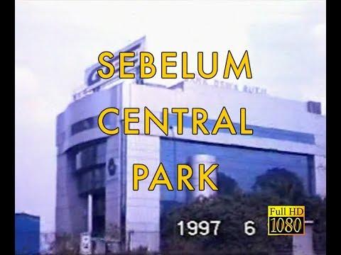 Jalan jalan di Jakarta Barat tahun 1997 sebelum Reformasi dan sebelum  ada Mall Central Park.