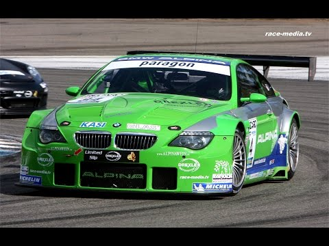 race-media.tv Onboard Classix: BMW ALPINA B6 GT3 Steffi Halm DMV GTC 2015 Hockenheimring
