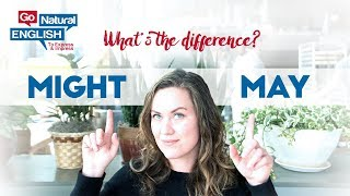 What is the Difference Between May and Might ?