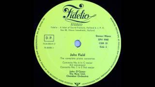 John field, Piano concerto No 6, 3rd mov and No 1 1st mov, John O