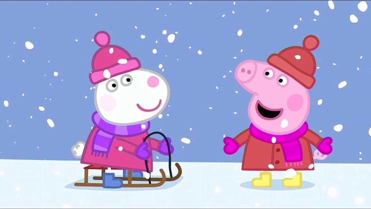 Prasátko Peppa S02E52 ZIMNÍ DEN (Cold Winter Day) CZ 4K ULTRA HD