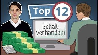 Gehaltsverhandlung: 12 Tipps für mehr Gehalt! // Gehaltserhöhung fordern: Welche Argumente benutzen?