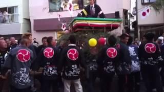 2016年 三瓶町 秋祭り 四ッ太鼓 大街道