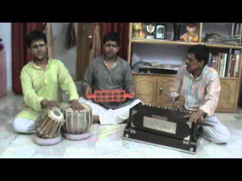 Bhojpuri 'Holi Folk Song'- 5,Jharkhand-Bihar (India) by'Babua Mandali'