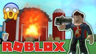 ¡NUEVA ARMA DE JUEGO! -Roblox danés: Simulador de destrucción