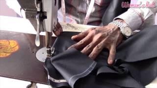 Mens Pant - 4. Making the Pockets (English Audio)