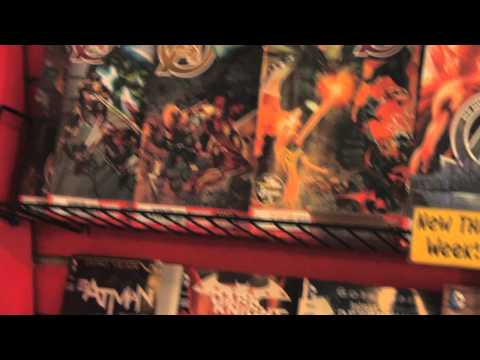 Comic book store interview