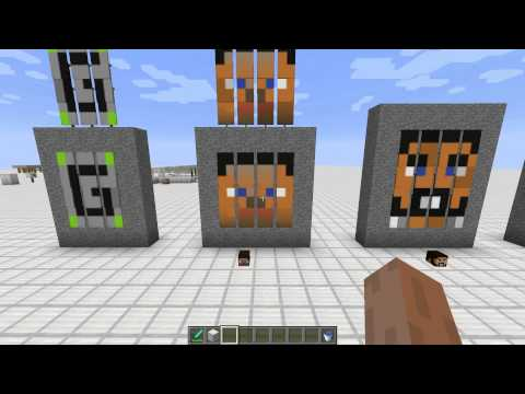minecraft face banner