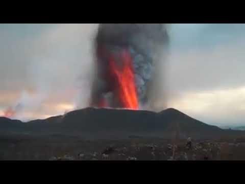Volcano Eruption in  GOMA  DR  Congo