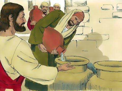 jesus transforma água em vinho youtube